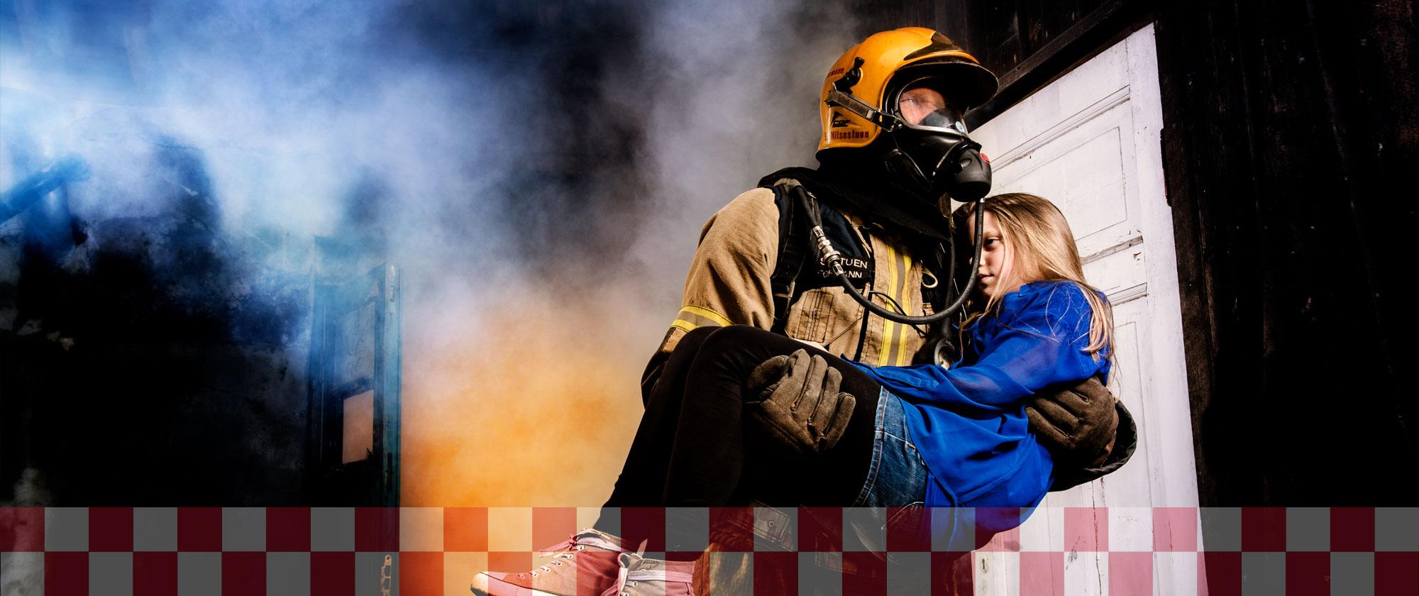 Brannvesen - redning
