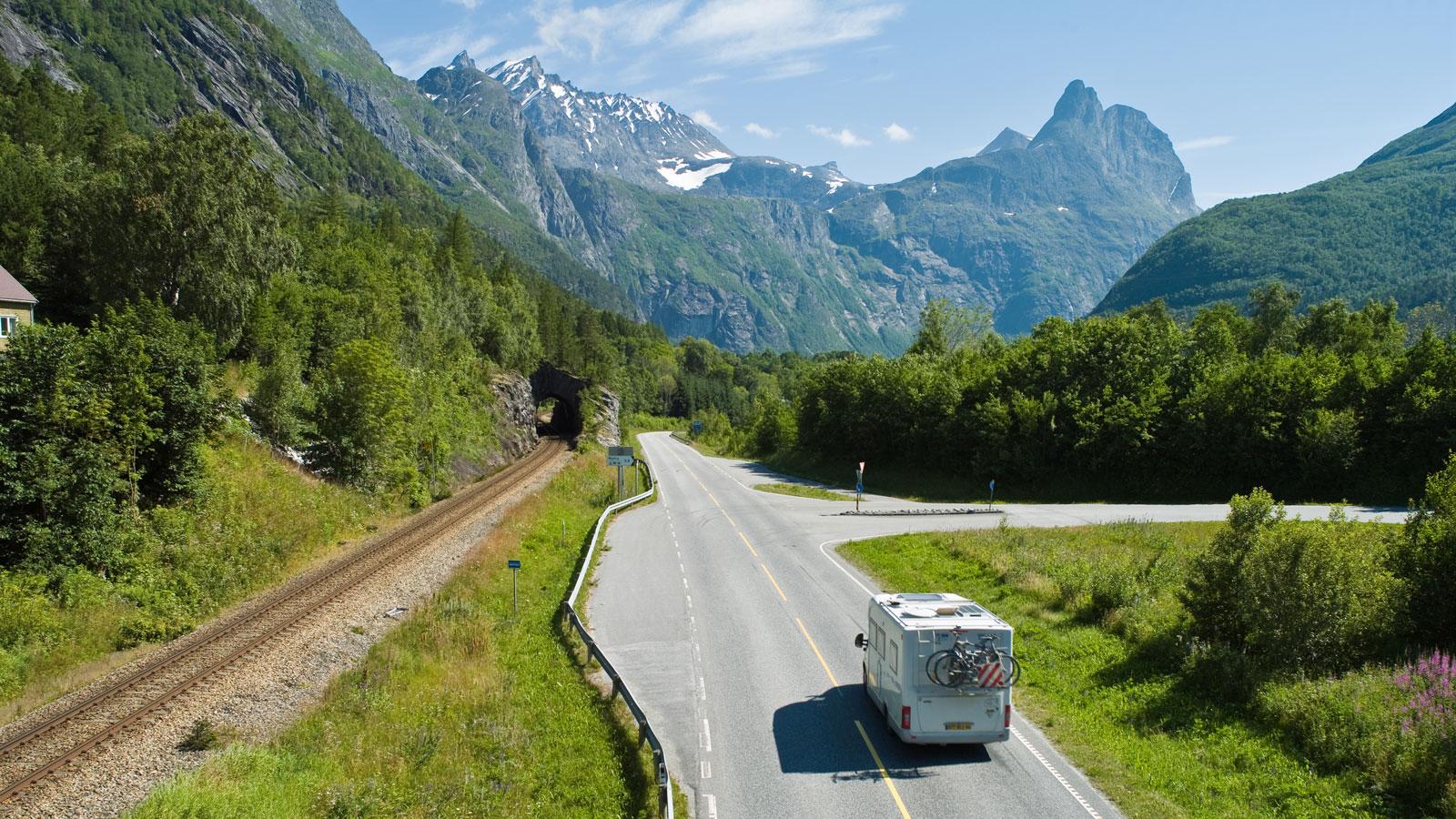 Campingtur Romsdalen