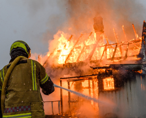 Brann - illustrasjonsfoto