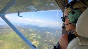 Pilot Hedvig Langehaug, Gjøvik og Toten Flyklubb